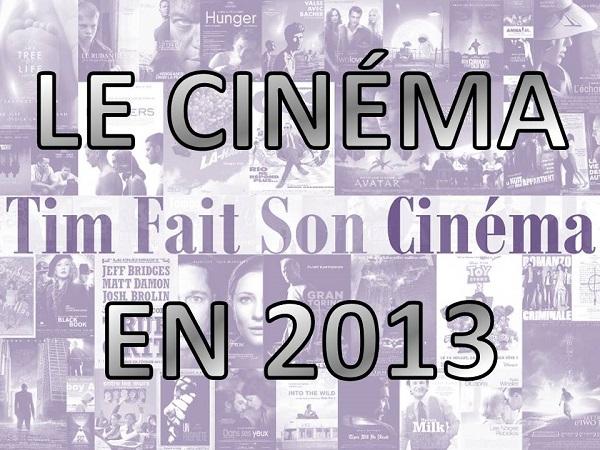 Le cinéma en 2013