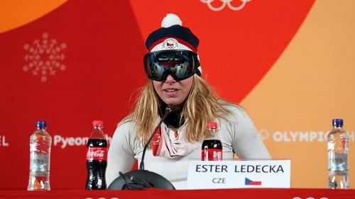 Ledecka et ses lunettes